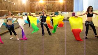 Евгения Минаева. Танец с веерами-вейлами.