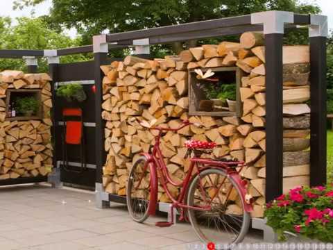 Holz Sichtschutzelemente