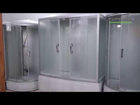 Душевая кабина в ванной комнате. Идея дизайна ванной - YouTube