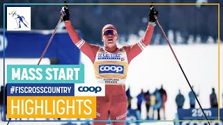 Bolshunov pulls away for another solo win | Men's 15 km. MST C | Engadin | FIS Cross Country