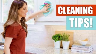 7 BRILLIANT CLEANING TIPS!