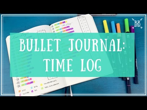 Bullet Journal: Time Log