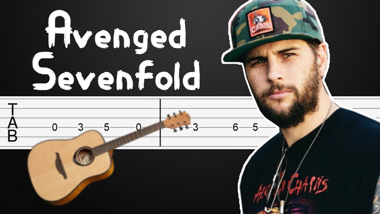 Set Me Free - Avenged Sevenfold Guitar Tutorial, Guitar Tabs, Guitar Lesson