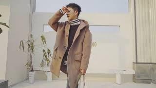 Мужской молодежное очень свободное пальто с большими карманами - MOD обзор