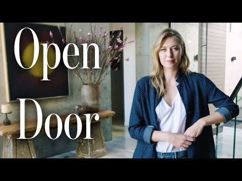 Inside Maria Sharapova's House with a Basement Bowling Alley | Open Door | Architectural Digest