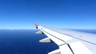 Durchstarten und Landung auf Teneriffa airberlin A320