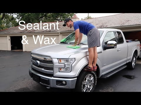 New Truck Protection: Sealant & Wax Combo | Ford F-150 Ecoboost
