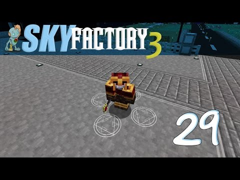 Sky Factory 3 - Let's Play Ep. 29 - Equivalent Exchange