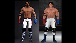 AJ Syles CAW WWE'13 Wii-Formel