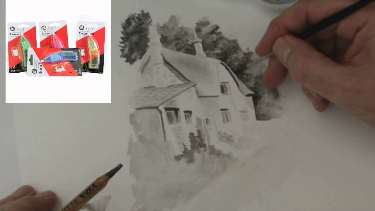 working with water soluble graphite pencils tips tricks