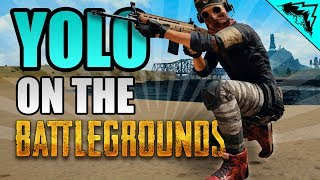 """LEGENDARY RED SHOES """"YOLO on the Battlegrounds"""" #5 PUBG StoneMountain64 Gameplay Serious Soldier"""