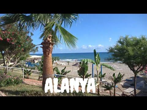 ALANYA Набережная у моря 28 мая четверг Аланья Пустые пляжи
