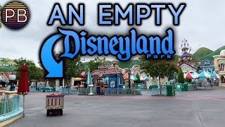 Walking On Everything at an ABSOLUTELY EMPTY Disneyland! | Disneyland Ep. 57 Part 1