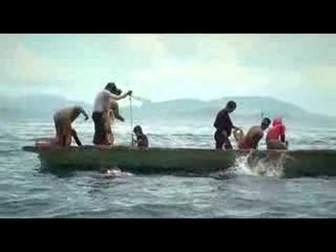 Ambitan - Reef Fishing Technique by Borneo Fishing tribe