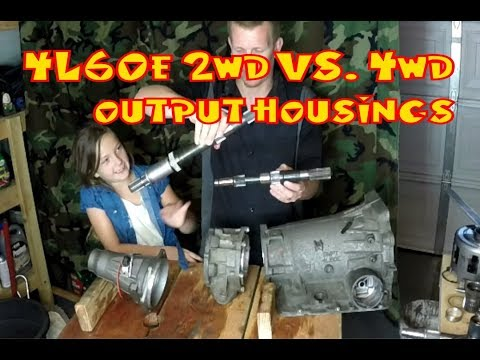 4l60e 2wd Vs 4wd Conversion Youtube