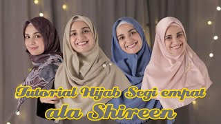Tutorial hijab segi empat menutup dada ala Shireen MP3