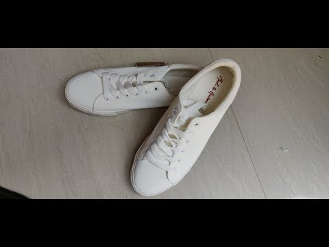 Mast & Harbour white Sneakers Unboxing