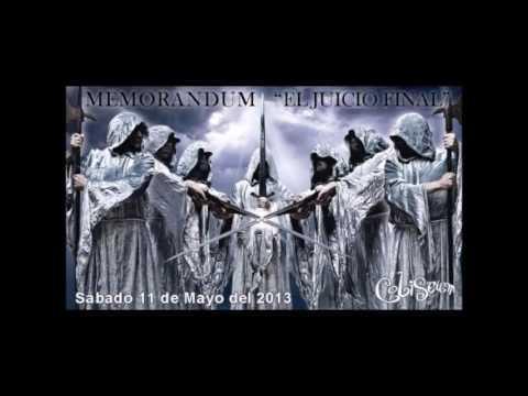 """Coliseum - Memorandum """"El Juicio Final"""""""