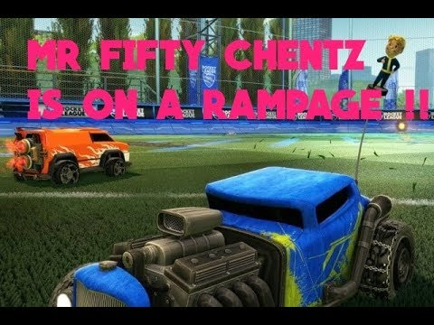 ROCKET LEAGUE - MR 50 CHENTS IS ON FIRE !!
