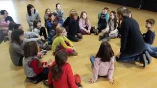 Bretagne : Conte pour enfants par Patrick Bardoul au stage Loustig 2015