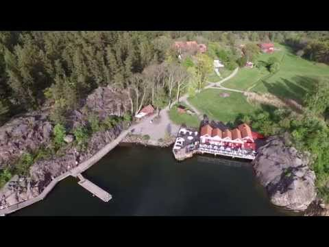 Grinda from above, Stockholm archipelago, Sweden (4k UHD - DJI Phantom 3 Pro)