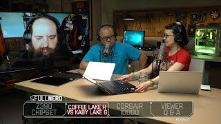Z390 Chipset, Coffee Lake H vs Kaby Lake G, and Corsair 1000D case | The Full Nerd Ep. 52