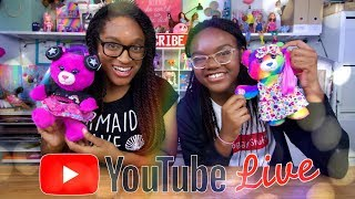 YouTube Live with the Froggy's:  Froggy Fresh Doll | Build-a-Bear | Q&A | Shoutouts