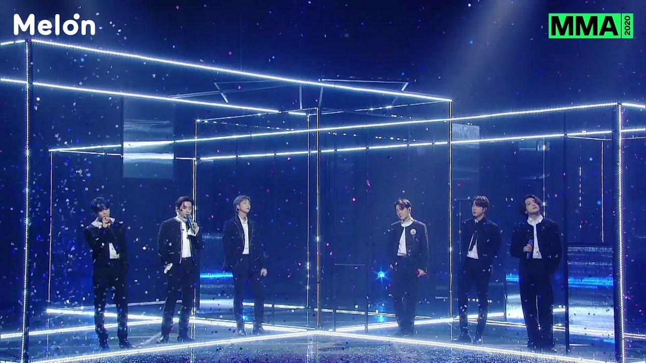 BTS (방탄소년단) Black Swan Perf. + ON + Life Goes On + Dynamite @ 2020 MMA