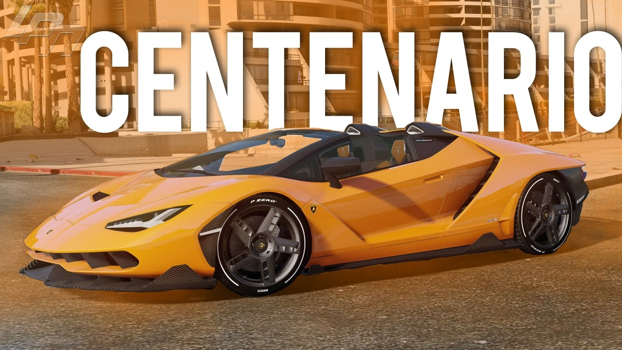 Lamborghini Centenario Lp 770 4 Roadster Gta V Carmods Youtube