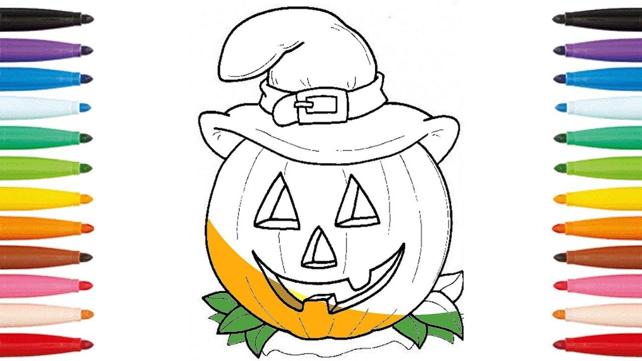 Coloriage halloween citrouille halloween coloring pages - Citrouille coloriage ...