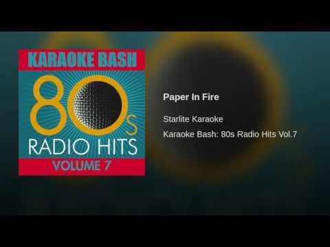 Paper In Fire