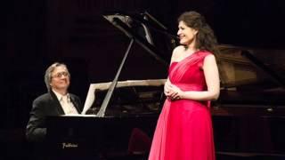 Anja Harteros in Recital - Brahms - Dein blaues Auge