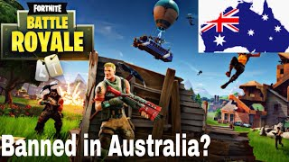 Fortnite might be getting banned in Australia