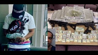 (GOOFY OF DA DAY) Rapper Arrested Throw 250,000 Dollars Of Meth In Police Hands..DA PRODUCT DVD