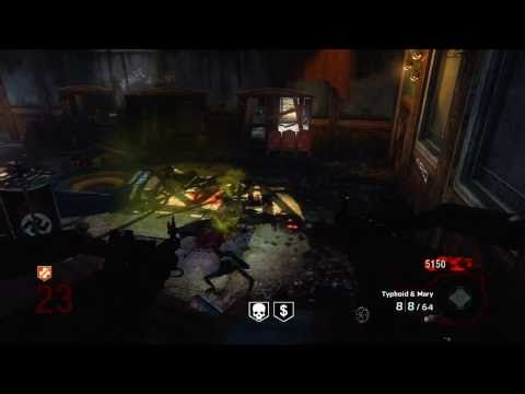 Black Ops Kino Der Toten Hidden Song Easter Egg and Round 23 Solo