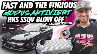 JP Performance - Fast and the furious Modus aktiviert! | HKS SSQV Blow Off + Ladeluftkühler | RX7