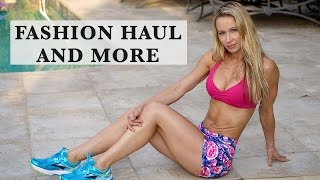 Fashion Haul And More - Popflex shorts, New Sneakers, Exercise Equipment, Fancy Back Pack