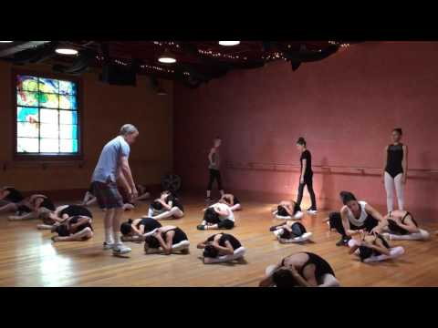 City of Angels Ballet Documentary, Class and Rehearsal