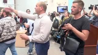 Напад во Собранието на Република Македонија