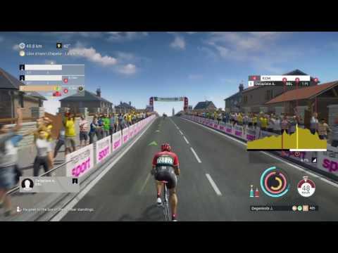Tour de France 2017 - PS4 - Stage 2 [ Düsseldorf - Liege ] Degenkolb for Stage win?