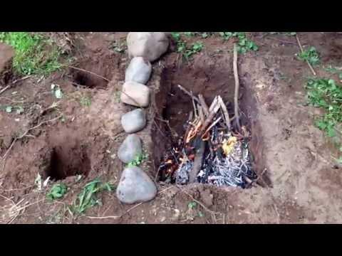 SAS Survival Handbook Dakota Fire Pit