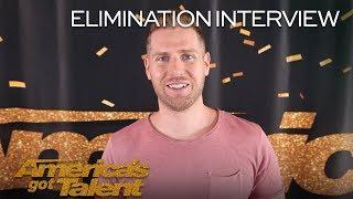 Elimination Interview: Rob Lake Recalls His Favorite AGT Memories - America's Got Talent 2018