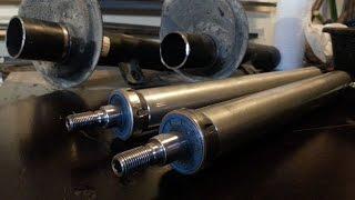 Comment recycler des amortisseurs a pression d'huile (train avant)
