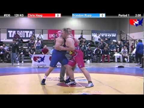 2011 U.S. Open SAT GR 120 KG: Chris Haag vs. Brandon Rupp Champ. Round 1