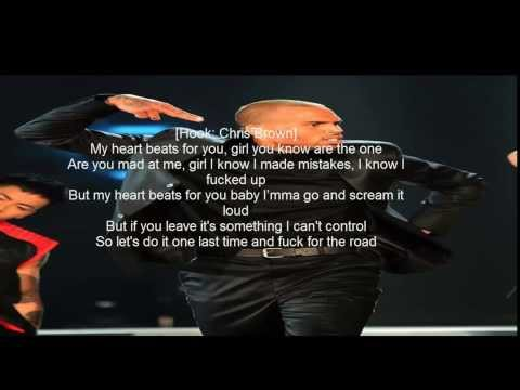 Tyga ft Chris brown For The Road (Lyrics)