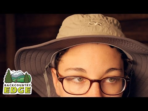 cd7015d27f570 Outdoor Research Women s Solar Roller Hat - YouTube
