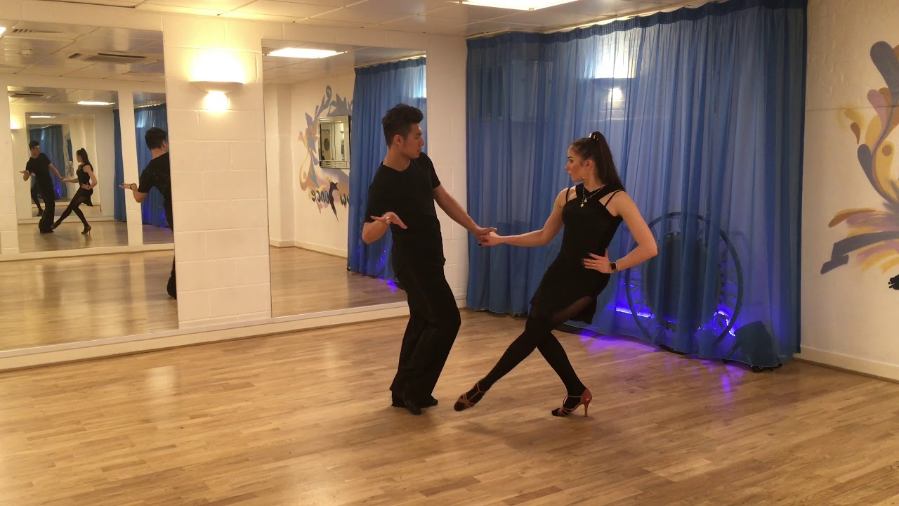 How to dance Chicken Walks & Sugar Push in Jive - Intermediate
