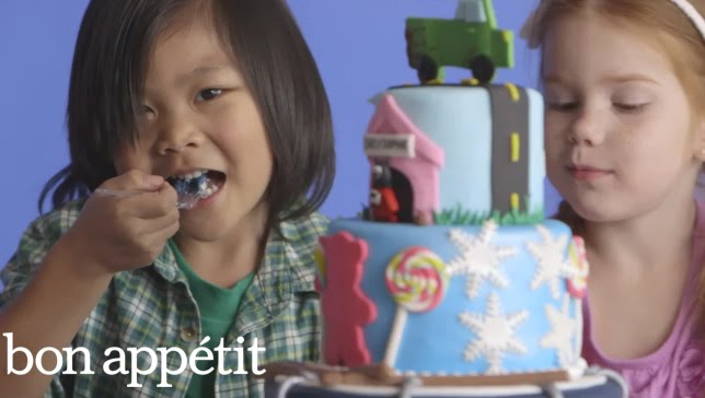 Kids React to Unbelievable Cakes in Slow Motion | Most Amazingest Cakes