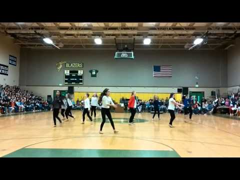 MWJH Dance Team Performance