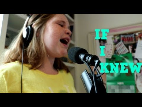 """If I Knew'' cover"